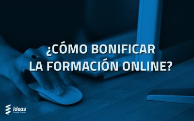 Formación bonificada online, ¿Cómo se puede bonificar?