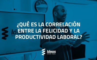 ¿Cuál es la correlación entre la felicidad y la productividad laboral?